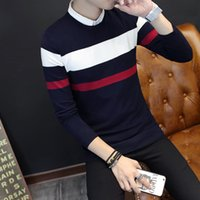 Wholesale Turtleneck Wholesaler - Wholesale- Autumn teenagers cultivate one's morality turtleneck collar thin sweater knit