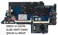 Wholesale Motherboard For Hp I3 - Classy Laptop Motherboard For HP Envy 4-1000 Laptop with CPU SR0CV i3-2367M Chipset HM77 PN QAU30 LA-8662P DDR3 100% Work