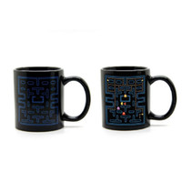 Wholesale Wholesale Black Beans - 8yr1 Eat Beans Magic Game Cup Creative Color Change Coffee Mug Heat Sensitive New Year Christmasl Gift Cups Novely