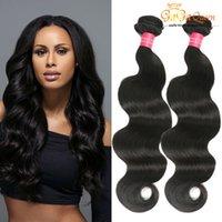 Wholesale Tangle Free Hair Weave - Brazilian Virgin Body Wave 8A Brazilian Human Hair Extensions Queen Hair Products 4Bundle Deals Brazilian Virgin Hair Weave Tangle Free