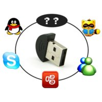 Compra Usb Online Gratis-Mini USB 2.0 Direct Connect Microfono USB Mini MIC Audio Adapter Driver gratuito per MSN PC Notebook Online Multi Channel Recorder