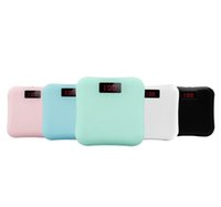 Wholesale small mini power bank online - Small Mobile Phone Large Capacity Mini Power Bank General Charge Treasure Extra Power Backup Power