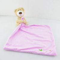 Wholesale Wholesale Care Bears - Newborn Cartoon Towels Baby Hand Towel Bear Kids Appease Towels Baby Girls Boys Bath Care Bathing Towel