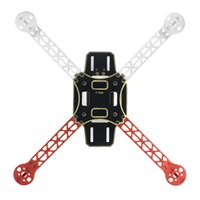 Wholesale Airframe Kit - F02471 F330 MultiCopter Frame Airframe Flame Wheel kit White Red As For KK MK MWC 4 axle RC Quadcopter UFO