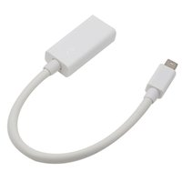 Wholesale Mini Displayport Macbook Pro - High Quality Thunderbolt Mini DisplayPort Display Port DP to HDMI Adapter Cable For Apple Mac Macbook Pro Air 50pcs