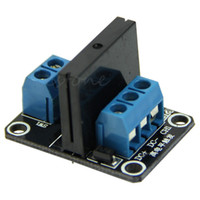 Wholesale ssr module for sale - Group buy 5V Channel SSR High Level Solid State Relay Module V A For