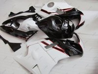 Wholesale Black 1994 Cbr F2 Fairings - Bodywork CBR600F2 1994 Full Body Kits CBR 600 F2 1991 Black White Plastic Fairings CBR600 F2 1993 1991 - 1994