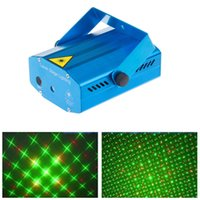 Blue Mini Projector Red Green DJ Disco Light Stage Xmas Party Laser Lighting Show