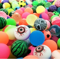 Wholesale Hugs Pictures - Hug Me Diameter 30mm Rubber Bouncing Balls Funny Toy Bouncy Ball Picture Bouncing Ball for Kids Decompression Toys EC-946
