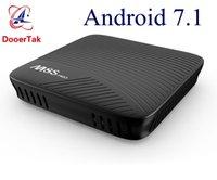 Wholesale Dual Core Tv Box Amlogic - M8S Pro 2GB 3GB DDR4 16GB EMMC Android 7.1 Smart TV Box Amlogic S912 Octa Core Dual 5G Wifi 4K H.265