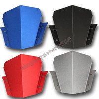 Wholesale Yamaha Upper Fairing - Black Blue Red Grey Upper Headlight Top Cover Panel Fairing for Yamaha FZ-09 NEW