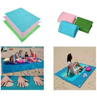 Wholesale Sand Free Beach Mat Camping Outdoor Picnic Mattress Beach Mats Summer Beach Pads CM Free DHL