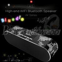 Wholesale Speaker Hd - Bluedio AS Bluedio AS-BT Fashionable High-end Wifi Bluetooth Speaker 3D Surround Sound Bluetooth 4.1 24 Bit HD Resolution