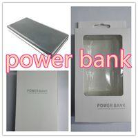 Wholesale Phone Batters - 5V2A Power Bank 10000mah Powerbank External Batter Portable Phone Charging Dual USB For Samsung iPhone 6 6plus xiaomi huawei