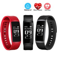 Presión Arterial Smart Band Monitor de ritmo cardíaco Impermeable IP67 Wristband C7S Bluetooth Smart Bracelet para iPhone HTC Huawei Android Phone