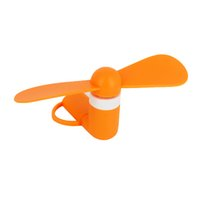 Wholesale Cellphone Flexible - Mini USB Fan Flexible Portable Super Cooler Cooling 2 in 1 Fans For iPhone Samsung Android Cellphone