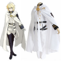 Wholesale Game Ends - Mikaela Hyakuya costumes cosplay uniform Japanese anime Seraph of the end clothing Masquerade Mardi Gras Carnival costumes supply from stoc