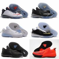 Wholesale Men Soccer Shoes Venom - 2017 New Arrival kobe Venomenon 6 Triple Black Sports Basketball Shoes for Top quality 6s Venom Independence Retro Training Sneakers 39-45