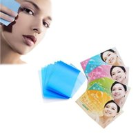 Wholesale Wholesale Face Blotting Papers - 50pcs set Facial Oil Blotting Paper Face Absorbing Tissue Oil Removal Control Film Sheet Papers Face Makeup Clean Skin Care ZA2774