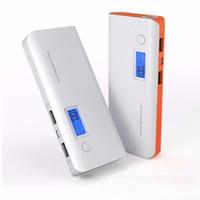 универсальный usb-накопитель оптовых-Новый портативный Power Bank 50000mAh двойной USB ЖК-дисплей внешняя Резервная батарея для iPhone мобильный телефон Универсальное зарядное устройство