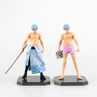 Wholesale Gintama Figures - 2 Types Anime Gintama Silver Soul Gintoki Sakata Figure Figurine New In Box