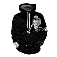 Wholesale mens hoddies - 3D Animal Printing Mens Hoddies Sweatshirts High Quality Sportswear Plus Size S~4XL Casual Coat Free Shipping