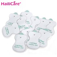 Wholesale Ems Pads Massager - Health Care Electrode Antistress Tens Acupuncture Pad Body Massage Digital Therapy Machine EMS Pads Massager Patches Vibrator