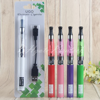 Wholesale liquid vape pen battery for sale - Group buy UGO T Batteries UGO T eGo t vape pen ce4 smoking atomizer wicks e liquid vaporizer pens pins ecig charger blister starter kits