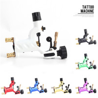 Wholesale Rotary Tattoo Machine Dragonfly - Dragonfly Rotary Tattoo Machine Shader & Liner 7 Colors Assorted Tatoo Motor Gun Kits Supply For Artists