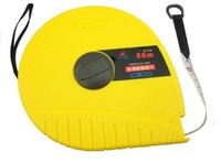 Wholesale Fiberglass Measuring Tape - Wholesale- SunRed R'DEER hongkong brand high quality yellow imported fiberglass ABS 50m metric body sewing tape measure NO.RT-F50
