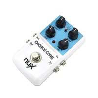 Wholesale nux pedals - NUX Chorus Core Guitar Effects Pedal Tone Lock Preset Function True Bypass High Quality Guitar bass pedals