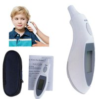 Wholesale Digital Portable Infrared Ear Thermometer - Wholesale-Infrared Digital Thermometer Portable LCD Baby Ear Thermometer