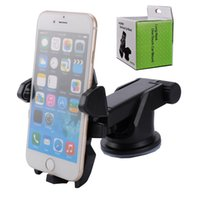 Easy One Touch 2 Car Mount Holder Sucção Cup para celular Phone 7 6s Plus 5s Samsung Galaxy S8 Nota 5
