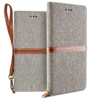 Wholesale iphone plus wallet book case online - Mobile Phone Wallet Case Book Design PU Leather Case Flip Cover Stand Magnetic Closure for iphone Plus