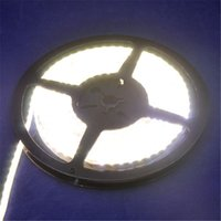 Wholesale Smd Strip Side Emitting - Wholesale-NEW 335 SMD Strip DC12V 5M 120leds m 600leds Totally Waterproof IP65 W WW R G B Y Side Emitting LED Strip Light