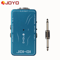 Wholesale Joyo Effects Pedals - JOYO JDI-01 DI Box with amp simulation With ground lift switch+MOOER PC-S pedal connector guitar effect pedal