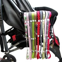 Wholesale Sippy Cup Strap - Stroller Accessories Toys Bind Belt Baby Toys Belt Stroller Product 60cm Polyester Toy Saver Toys Hanging Belt Sippy Cup Baby Bottle Strap