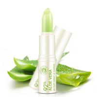 Wholesale Aloe Lip Balm - Natural Aloe Vera Lip Balm Natural Lipsticks Moisturizing Lipstick Refine Lip Wrinkles For Women Winter Lip Care