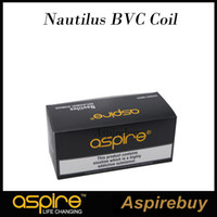 Wholesale Clearomizer High Quality - Aspire Nautilus BVC Coil Head High Quality Nautilus Atomizer Coil For Nautilus Mini 2 Atomizer Clearomizer 100% Authentic