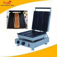 special desserts - Commercial Waffle Stick Maker Dessert Cake Baking Machines Café Special Waffle Making Machine Biscuits Machines v v
