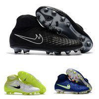 Mens Mercurial Superfly CR7 Soccer Shoes AG FG Botas de futebol Ronaldo High Ankle Magista Obra II ACC Neymar JR Phantom IC TF Cleats