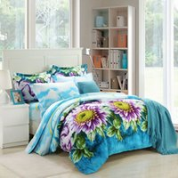 Wholesale Quilt Manufacturers - Special offer bedding 3D activity painting four set of textile exports direct manufacturers welcome to order bedspread quilt pillow