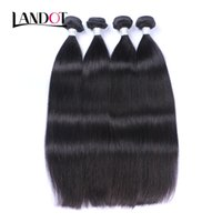 Wholesale Top Quality Brazilian Remy - Brazilian Straight Virgin Human Hair Weaves Bundles Top Quality Indian Cambodian Mongolian Peruvian Malaysian Remy Hair Extensions Soft FULL
