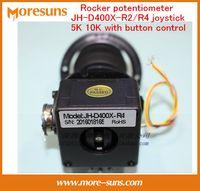 Wholesale 5k Potentiometer - Wholesale- Free Ship Rocker potentiometer JH-D400X-R2 R4 four-dimensional seal resistance 5K 10K with button control joystick
