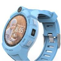 Wholesale Watch Gps Tracker Alarm - GPS Tracker Watch Phone 1.4'' Waterproof Children Kids GPS Smart SIM Card Wristwatch SOS Alarm For Android IOS