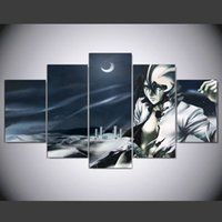 bleach posters - Unframed Panel home decorative black and white painting Modern Art Anime Bleach Character Canvas Painting For drawing room Wall Poster
