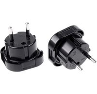 Wholesale universal europe travel adapter for sale - Group buy New UK TO EU EUROPE EUROPEAN UNiVERSAL TRAVEL CHARGER ADAPTER PLUG CONVERTER PiN Wall Plug Socket