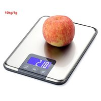 Wholesale Mini kg g Digital LCD Scale Electronic Kitchen Jewlry Balance Stainless Steel