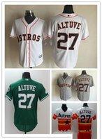 Wholesale Wholsale Jersey - Wholsale Houston Astros #27 Jose Altuve s 2016 Flexbase Jose Altuve Jerseys Best Quality Free Shipping Baseball jerseys