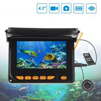 Wholesale Underwater Fish Photos - 20 m 30 meters with photo video 4.3 inch HD infrared video underwater fish camera camera